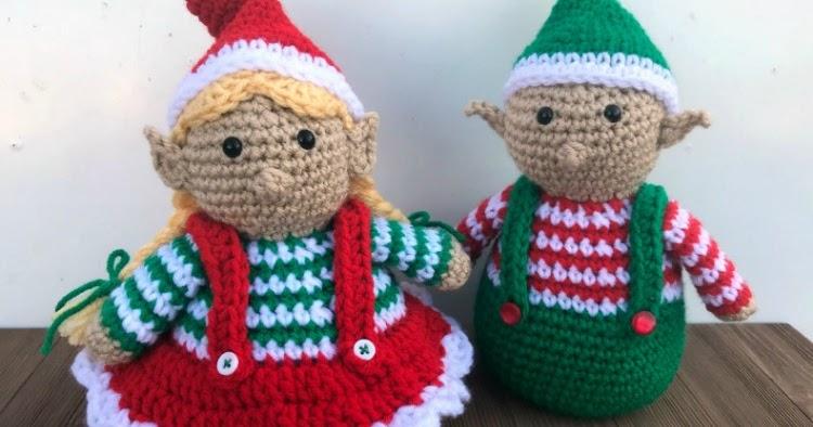 Crochet an Elf – 20 free patterns – Grandmother's Pattern Book | 394x750