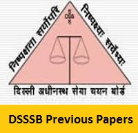 DSSSB Warder Previous Papers
