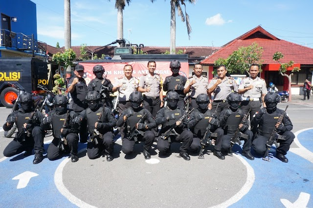 Antisipasi Begal, Polres Bangkalan Bentuk Team Anti Begal