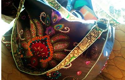 karmabag1 - Instant Karma Embroidered Bag = Instant Love