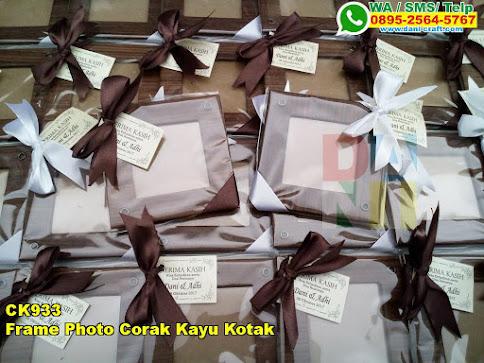 Jual Frame Photo Corak Kayu Kotak