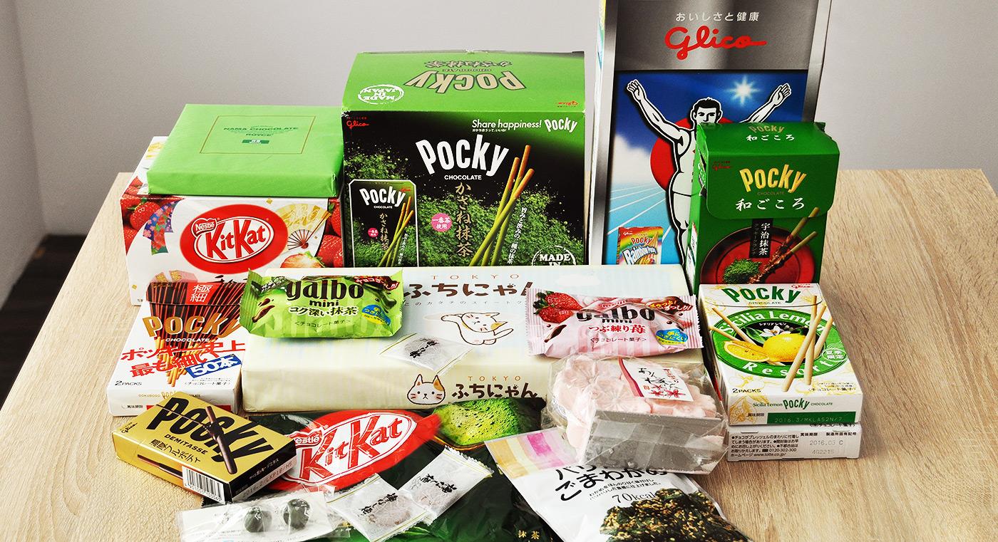 słodycze z Japonii