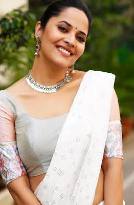 Anchor Anasuya Bharadwaj Latest Glam Stills