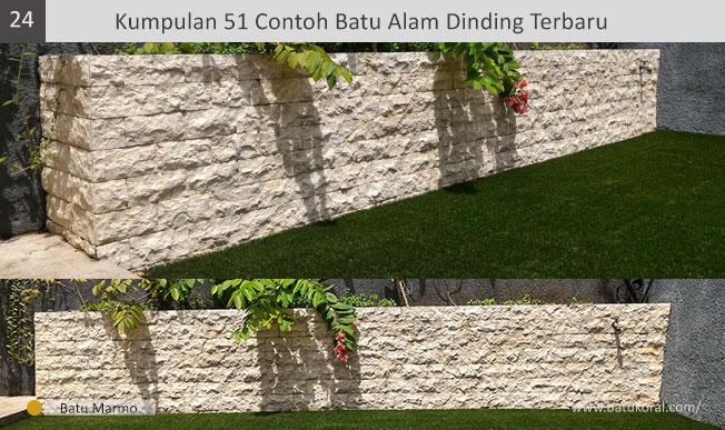 model batu alam untuk dinding teras