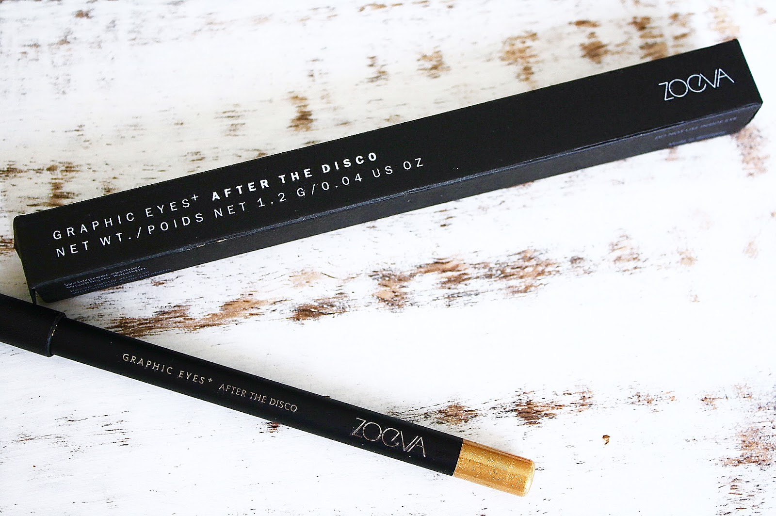 Zoeva Graphic Eyes Eyeliner Swatch