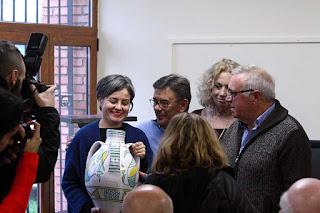 Entrega del premio Barbón de Faro