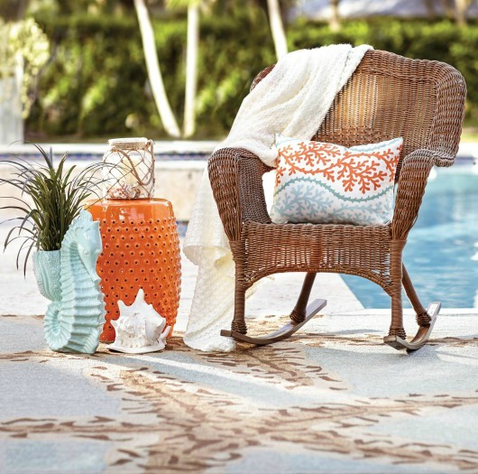 Unique Create a vibrant u warm Coastal Ambiance in your Outdoor Space with sunny yellow and sunset orange