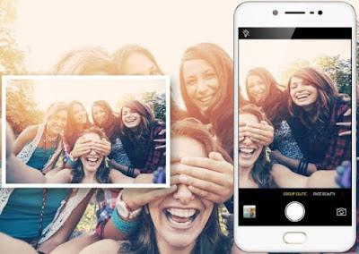 Vivo V5S dengan fitur grup selfie