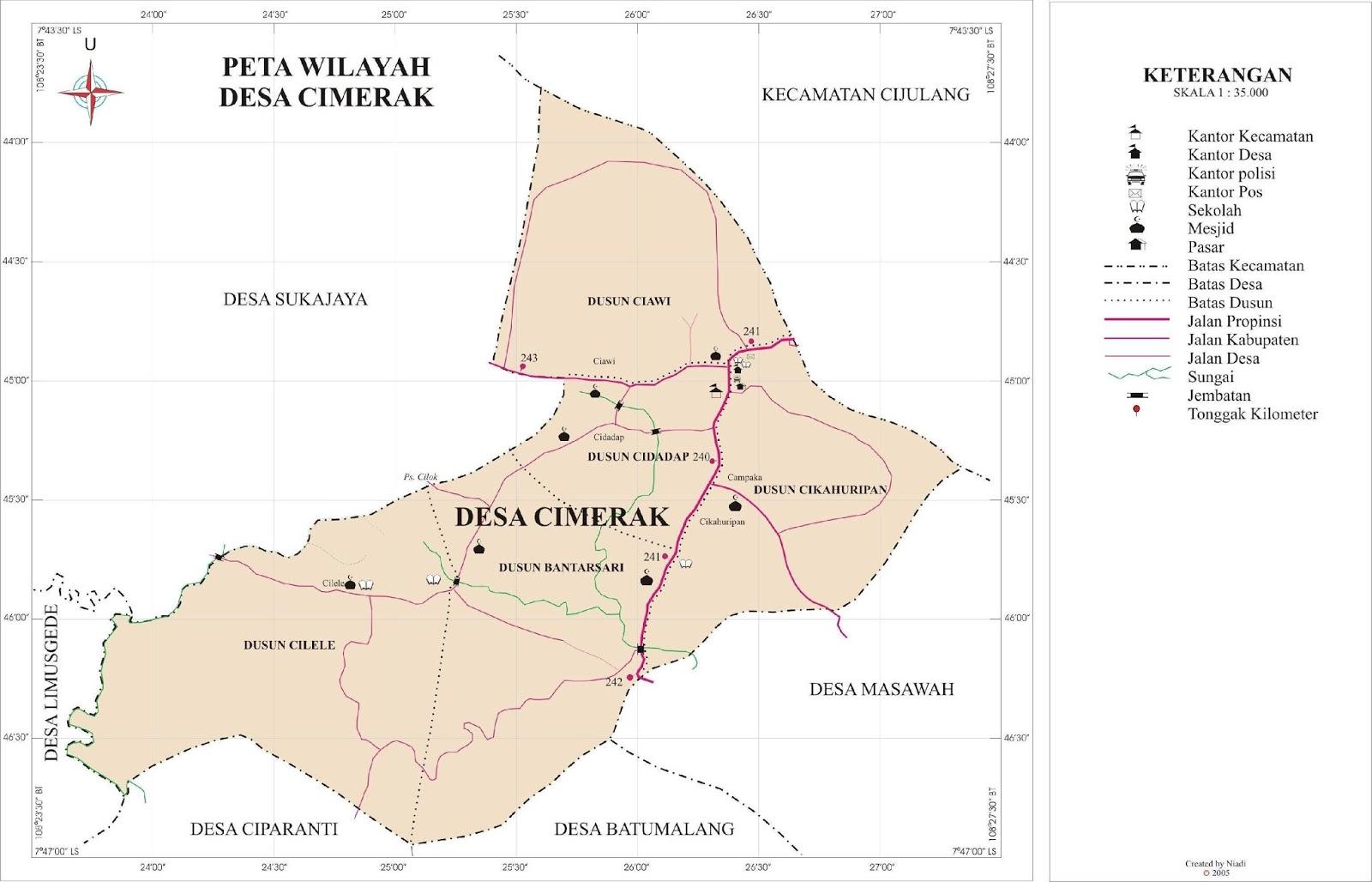 Profil Desa Cimerak | Cimerak Online
