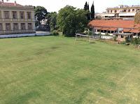 Το γήπεδο της ακαδημίας από ψηλά