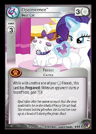 My Little Pony Opalescence, Best Cat Marks in Time CCG Card