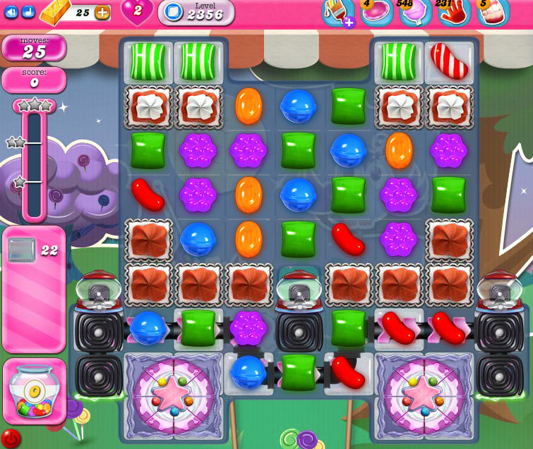 Candy Crush Saga level 2356