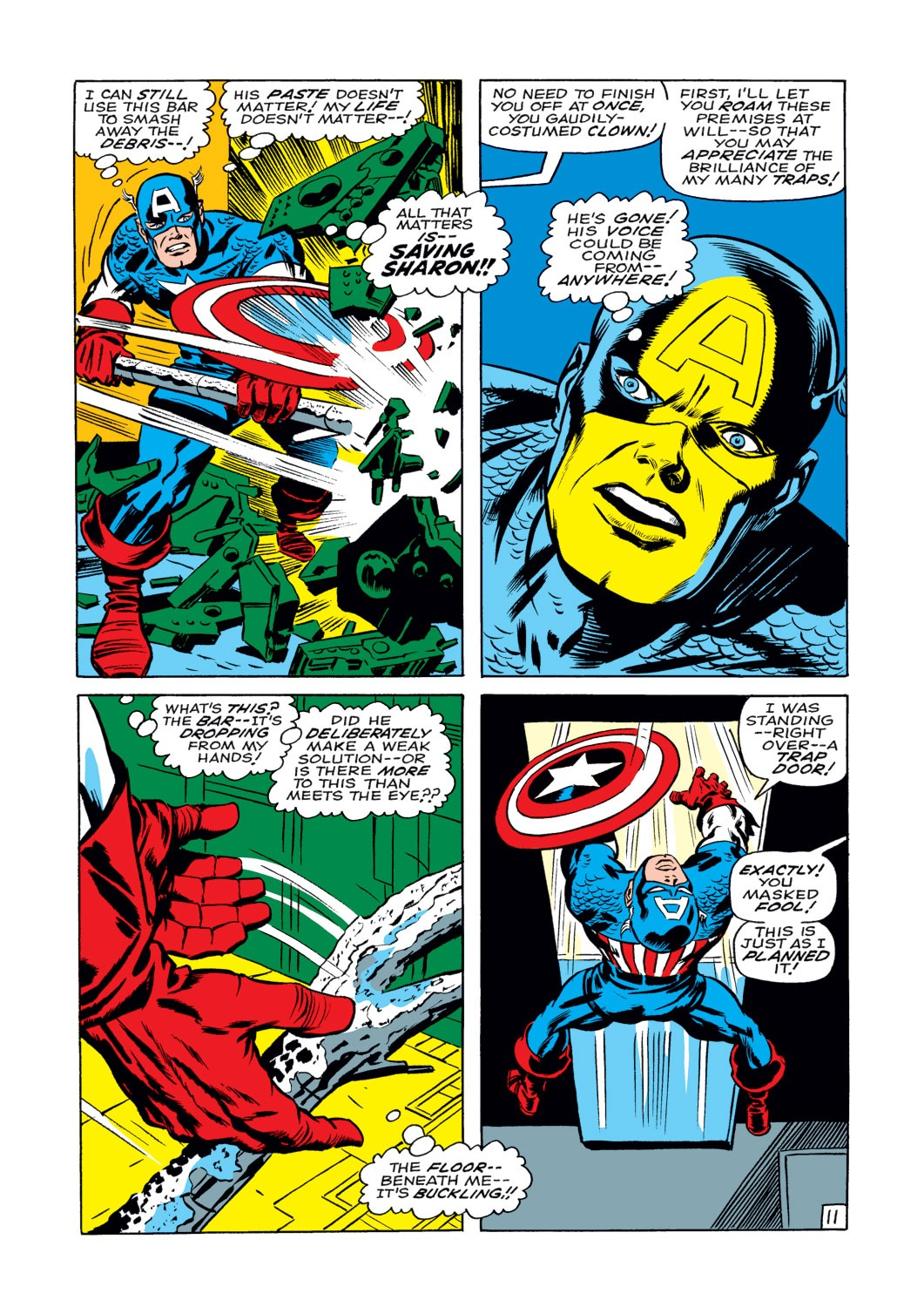 Captain America (1968) Issue #108 #22 - English 12