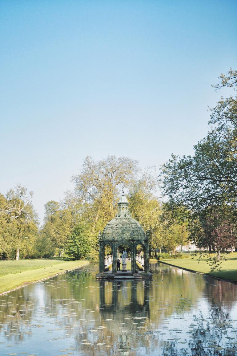 Le parc du château de Chantilly