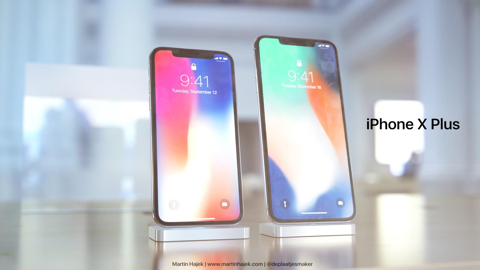 6.7 吋 iPhone X Plus 概念設計:豈止於大