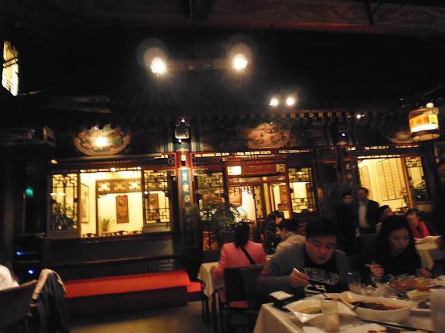 Un siheyuan convertido en restaurante (Beijing)
