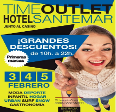 Mercado Time Outlet en el hotel Santemar de Santander
