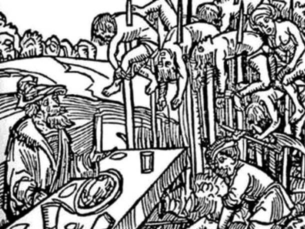 25 การทรมานโหดที่สุดในโลก การเสียบทั้งเป็นให้ตายอย่างช้า (Impalement)