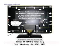 jasa service smart tv lg samsung polytron coocaa toshiba sony tangerang