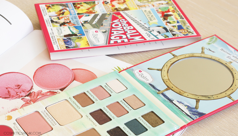 the balm voyage vol II paleta cieni eyeshadow
