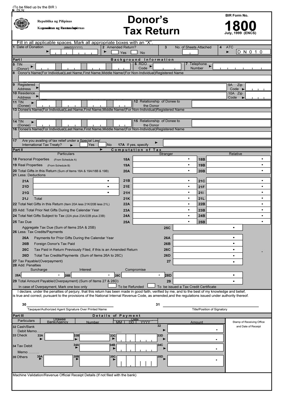 busapcom: BIR Form 1800 Download
