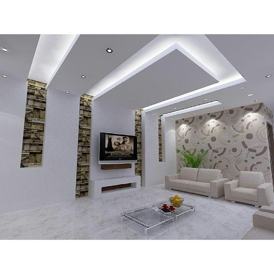 Latest Living Room Ceiling Design: Top 100 Gypsum Board False Ceiling Designs For Living Room