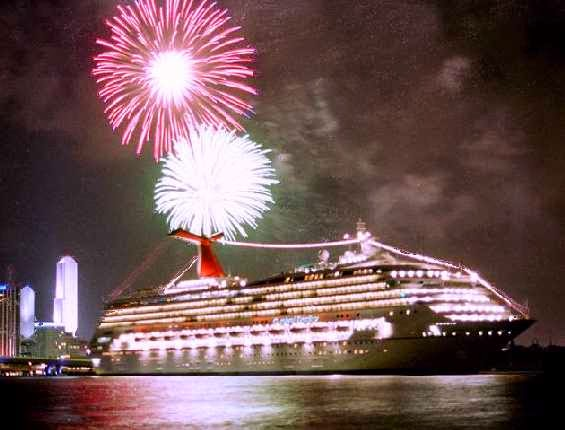 Happy New Year 2019 Cruise Party Celebration Pics