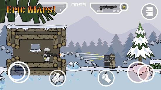 mini militia 2 mod apk unlimited ammo and nitro