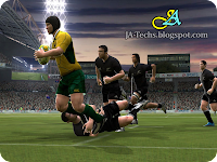 EA Sports Rugby 08 Gameplay 7