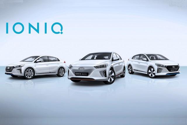 update hyundai ioniq apresentado quatro rodas e um volante. Black Bedroom Furniture Sets. Home Design Ideas
