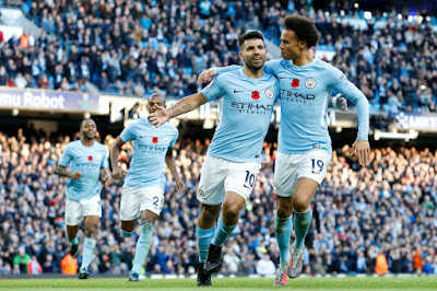 Highlight Manchester City 3-1 Arsenal, 05 November 2017