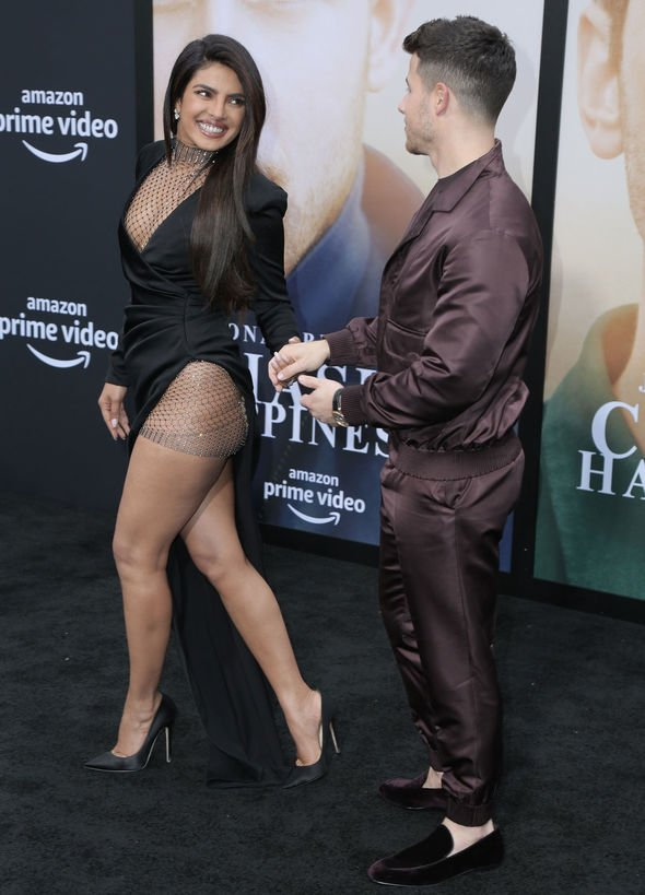 Priyanka Chopra appears to go knicker-less and nearly flashes