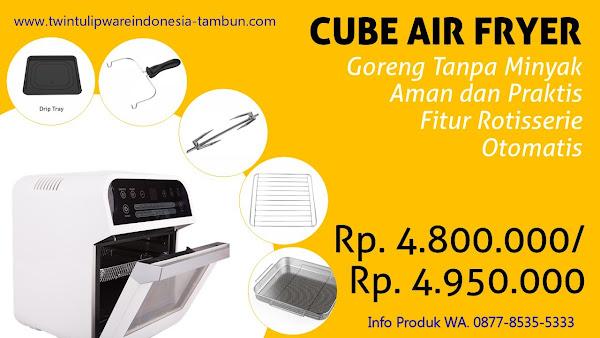 CUBE AIR FRYER - Produk Baru Tulipware 2019