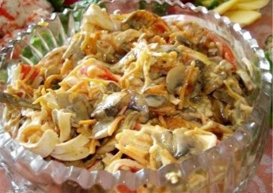 Салат нежный рецепты
