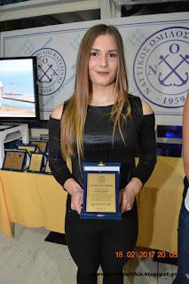 2η και αργυρό μετάλλιο για την Κατερίνα Κούρτη του ΝΟΚΑΤ στους Βαλκανικούς αγώνες κωπηλασίας.