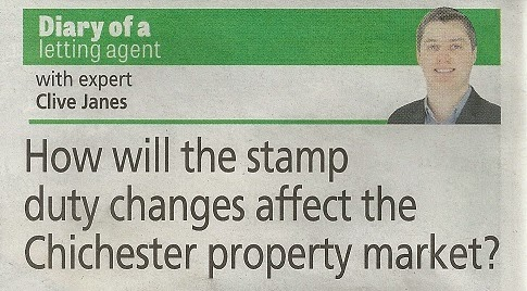 Chichester Observer cutting - Chichester Property