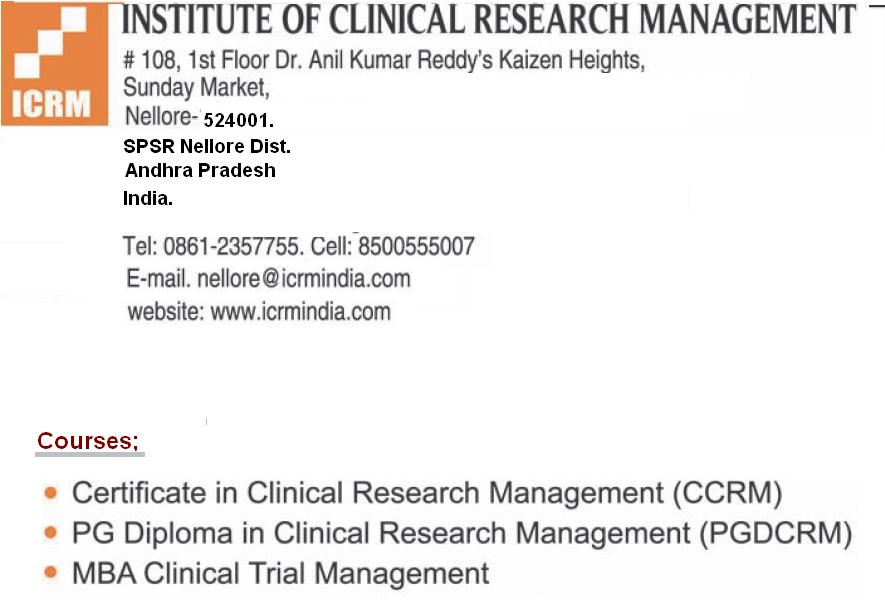 allinall12345: Clinical Research Management Courses