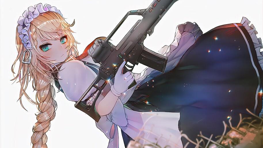 Anime, Girls Frontline, G36, Rifle, 4K, #6.1094