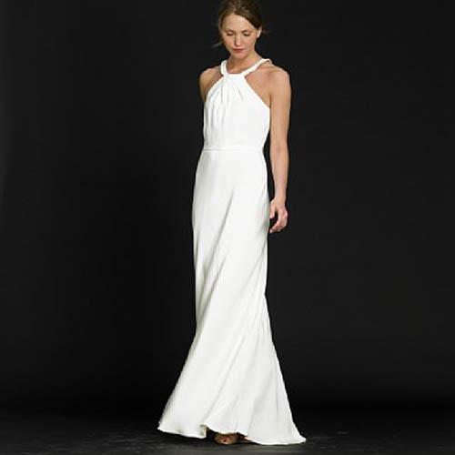 Simple Wedding Dresses Bavarian Wedding
