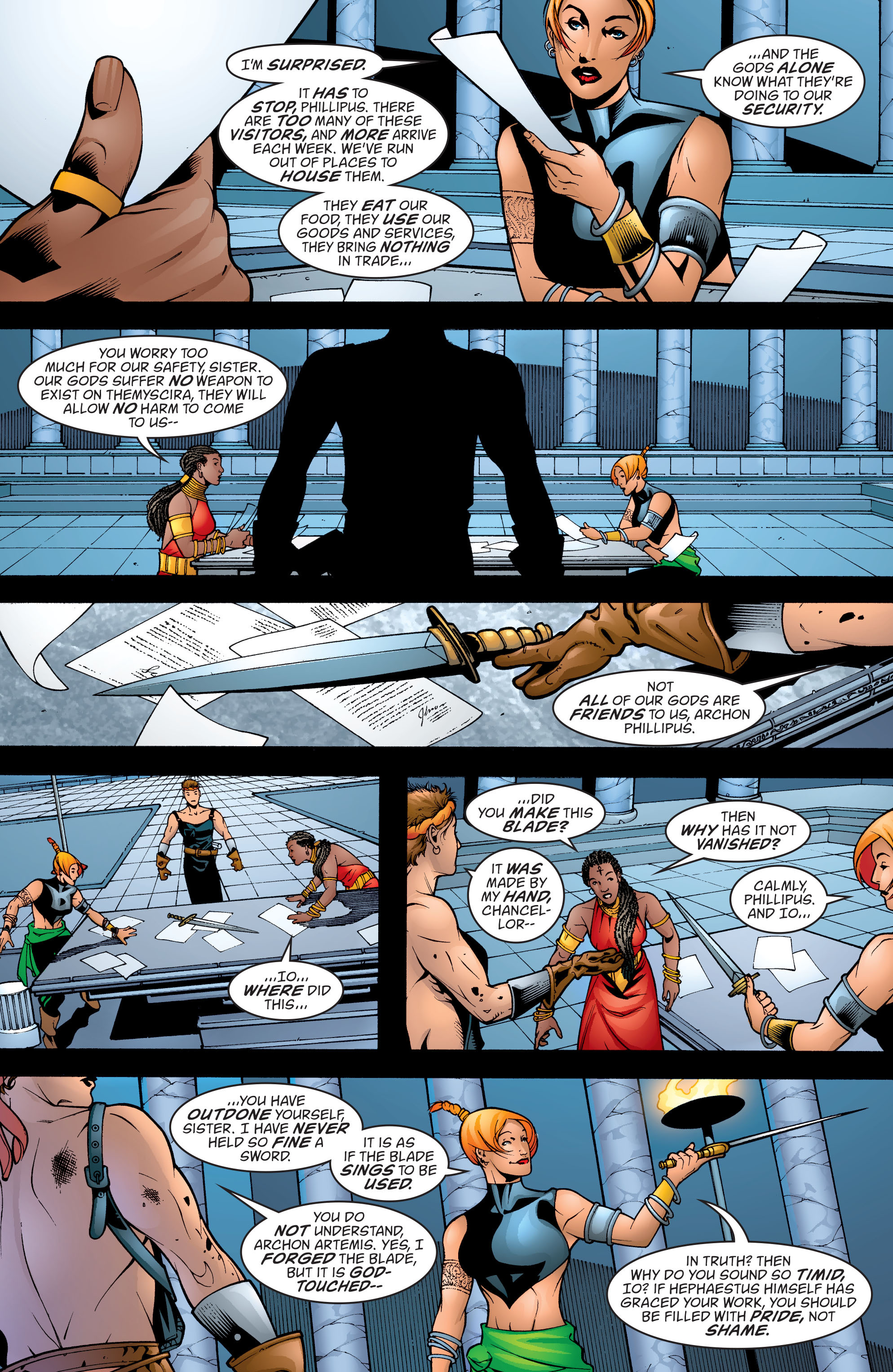 Read online Wonder Woman (1987) comic -  Issue #198 - 3