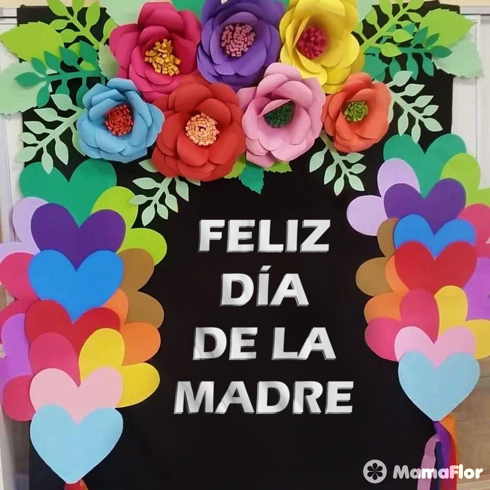 68c68c35b4 Murales para el Día de la Madre  Increíbles y Fáciles - Manualidades ...