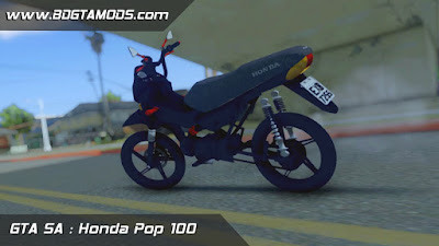GTA SA - Honda POP 100 - BoladeX-full 2