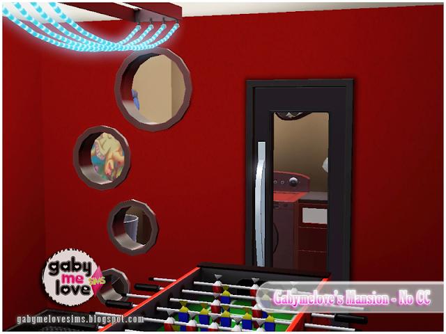 Gabymelove's Mansion |NO CC| ~ Lote Residencial, Sims 3. Lavandero.