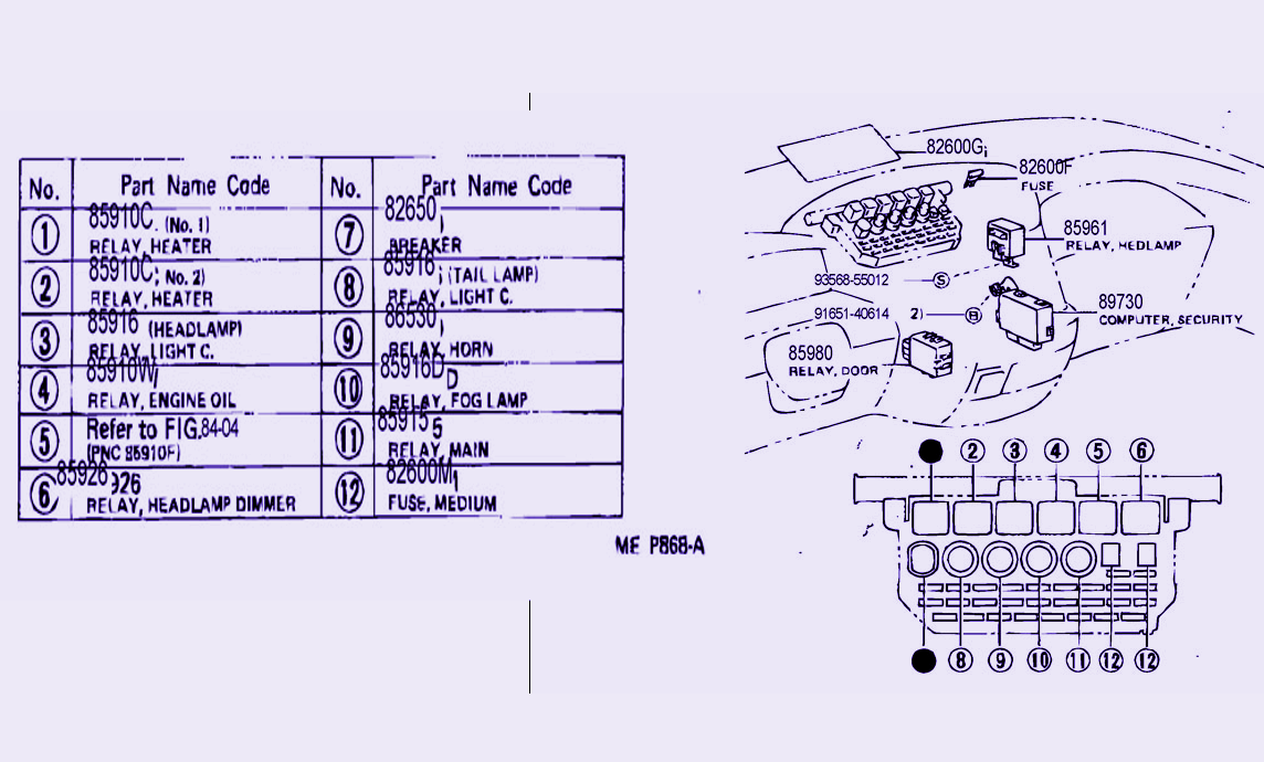 small resolution of camry fuse www topsimages com mustang fuse box fuse box diagram for toyota previa png 1144x690