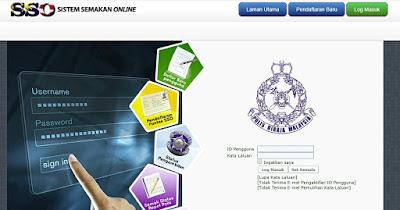 Semakan Online PDRM : Semakan Saman Trafik, Report Polis & Status Pengambilan