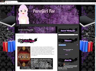 Faerie Blogger Template