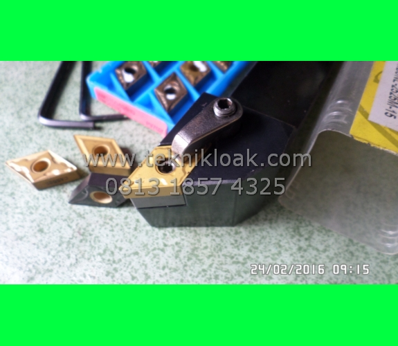 Paket Insert DNMG 15 04 dan Holder Bubut Baru MDJNL 2525-15 | Holder Bubut | Stang Bubut