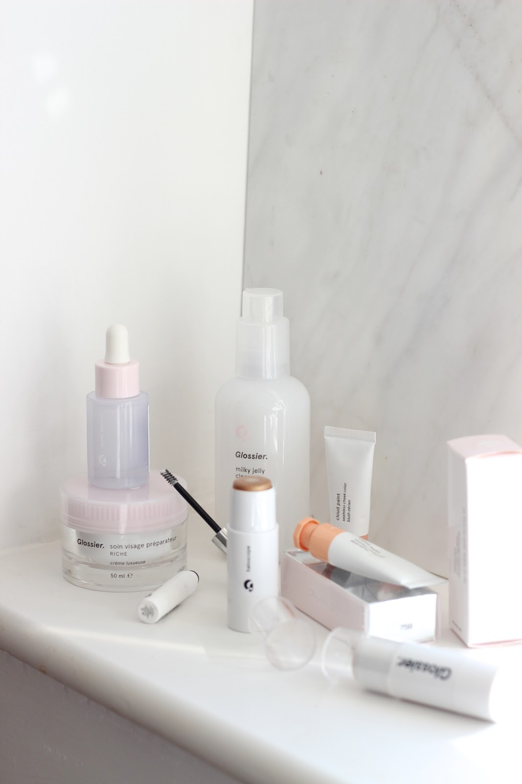 Glossier First Impressions.