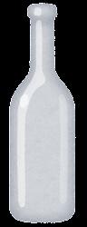 空き瓶のイラスト(透明)