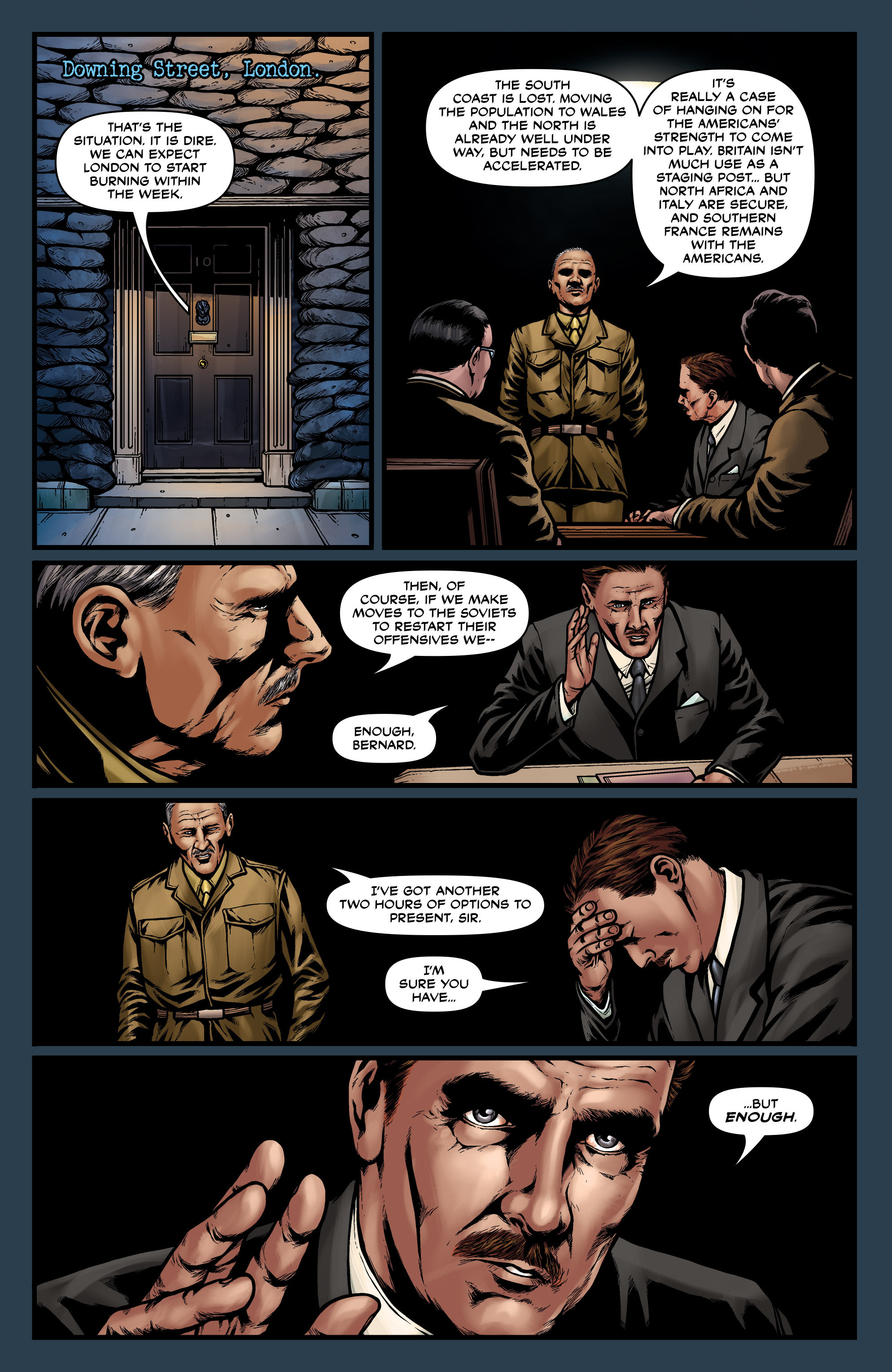 Read online Uber comic -  Issue #27 - 8